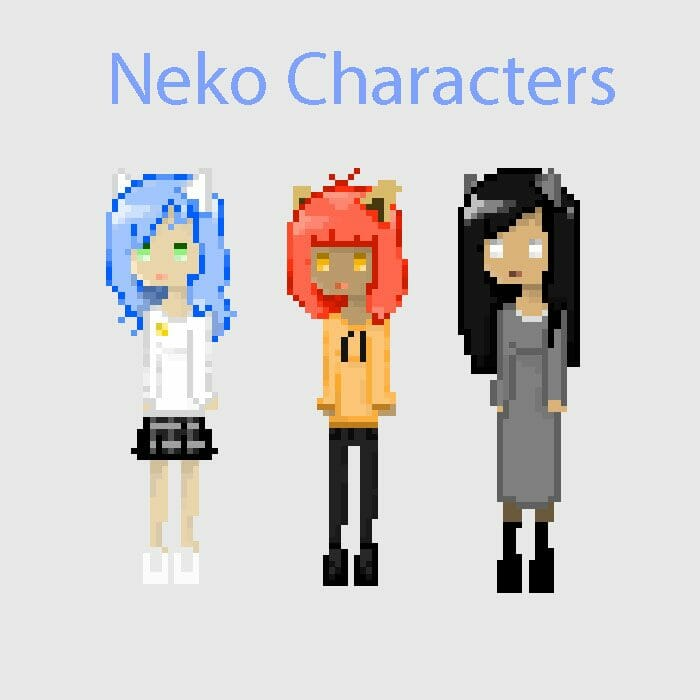 Neko Sprites And Others