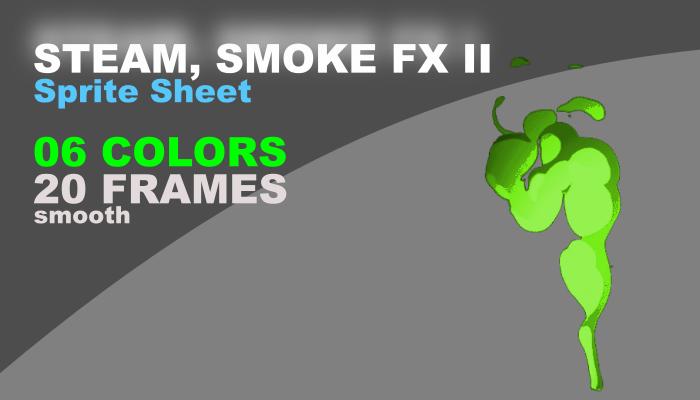 Smoke with cartoon effect II