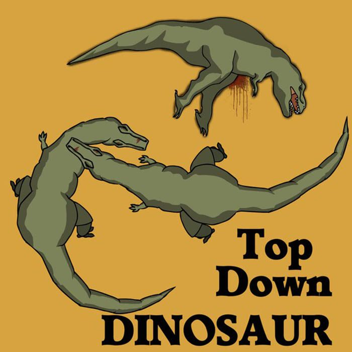 Top Down Dinosaur