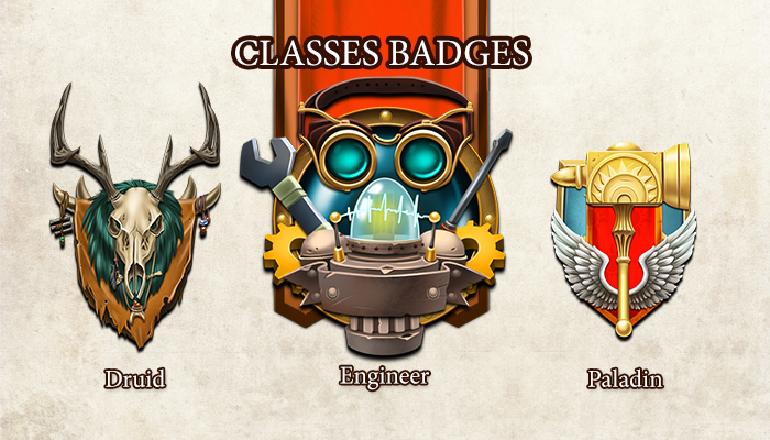 Classes Badges