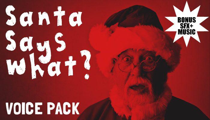 Santa Says What? Character Voice + BONUSES