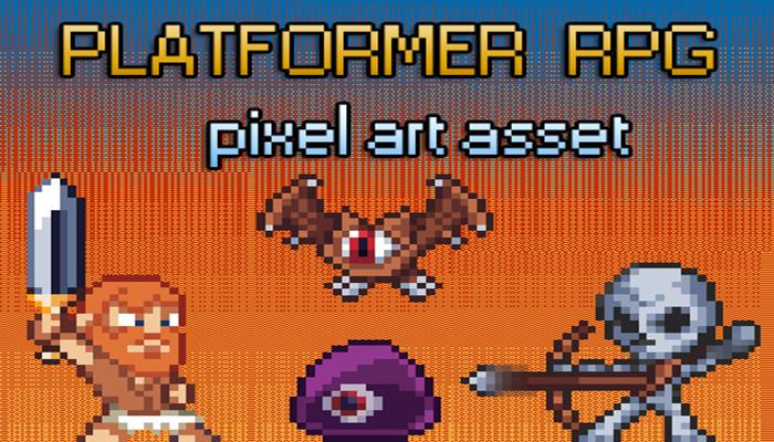 RPG/Platformer| Pixel Art Asset Pack!