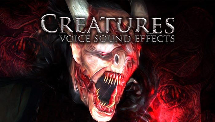 Creatures – Voice Sound Effects