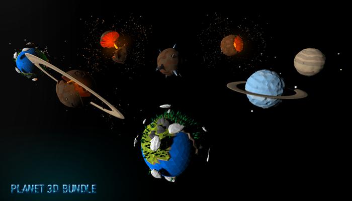 Planet 3D Bundle