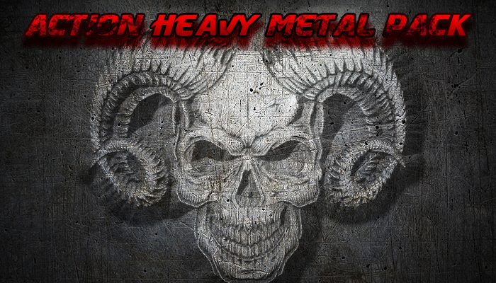 Action Heavy Metal Music Pack