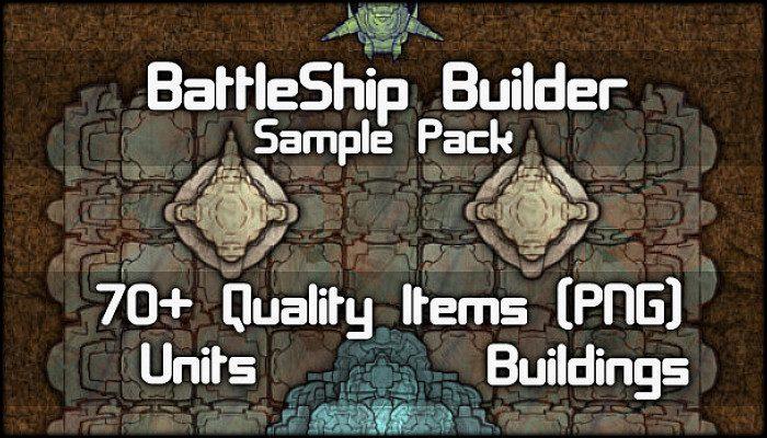 BattleShip & SpaceShip Builder Unit Pack ( 70+ Items! )