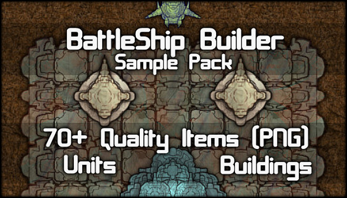 BattleShip & SpaceShip Builder Unit Pack ( 70+ Items! )