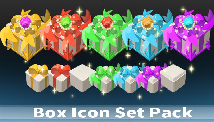 Box Icon Set Pack
