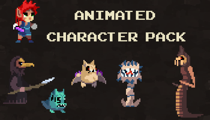 Animated Character Pack