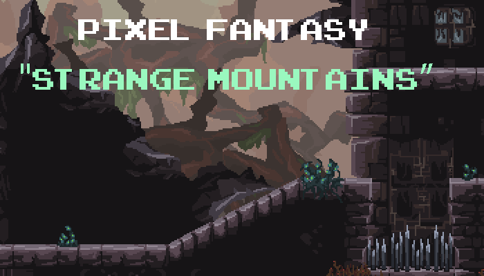 Pixel Fantasy Strange Mountains