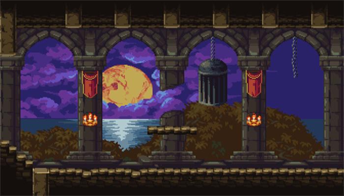 Dark Castle Platformer Set