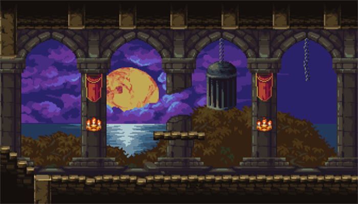 Dark Castle Platformer Set