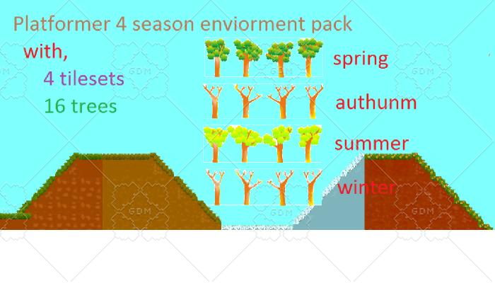 4 season platform environment pack