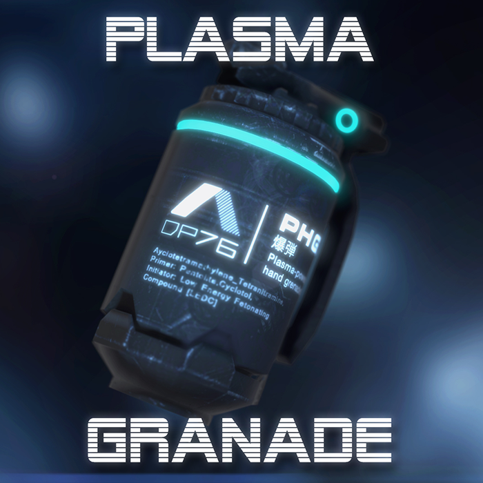 Plasma-Powered Hand Grenade