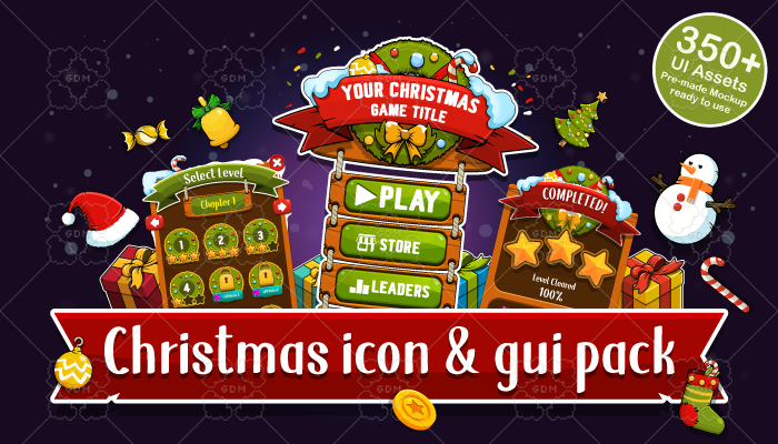 Christmas Icons & GUI Pack