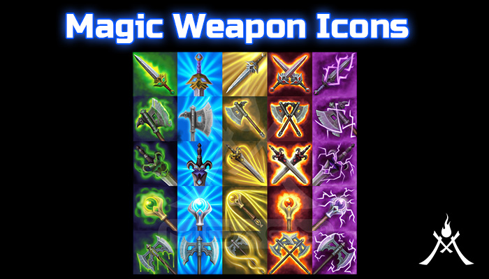 Magic Weapon Icons