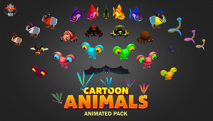 Cartoon animals pack