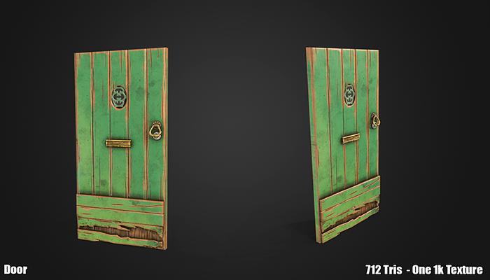 Stylized Door Triple AAA
