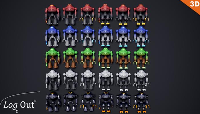 Elemental Robots Pack
