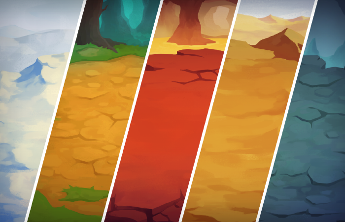 2D Battle Background Pack