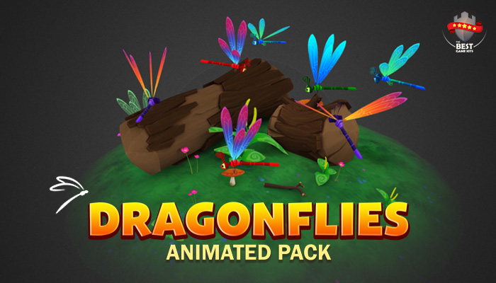 Dragonflies pack