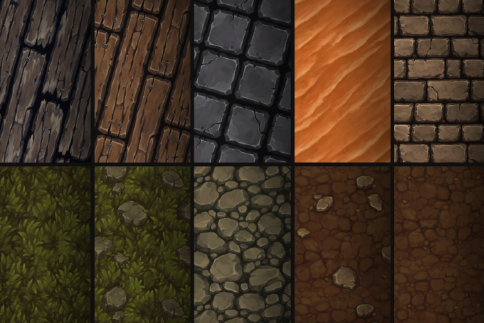 Hand Painted Texture Pack