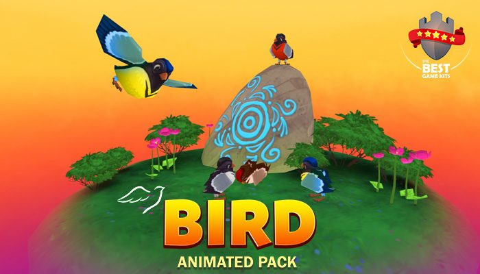 Birds animated pack