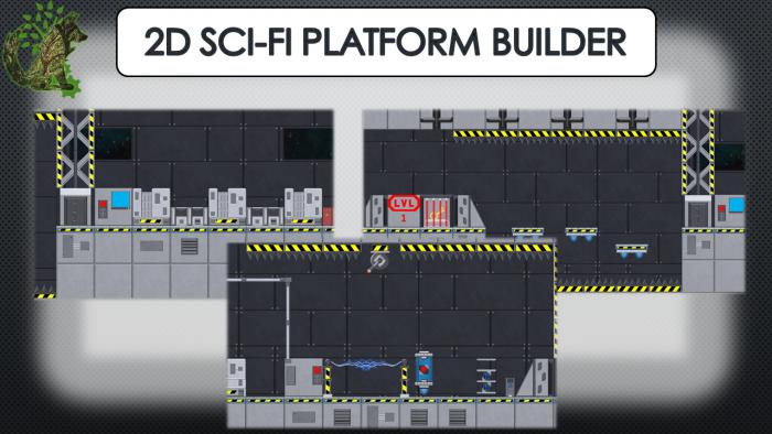 2D Sci-Fi Platform Builder