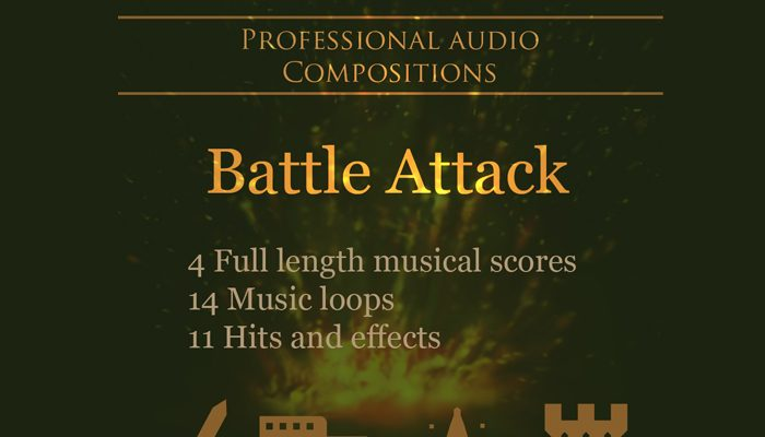 Battle Attack Music Pack