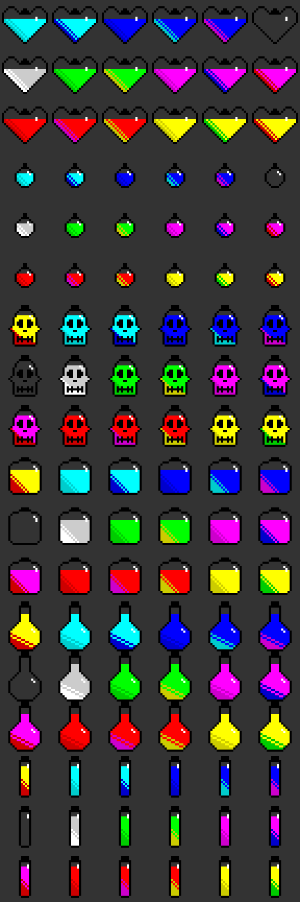 Grabclaw's RPG Potions Pack 1