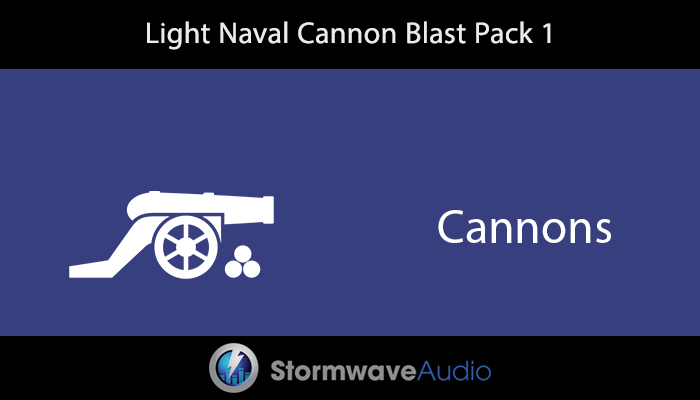 Light Naval Cannon Blast Pack 1