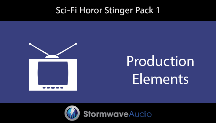 Sci-Fi Horror Stinger Pack
