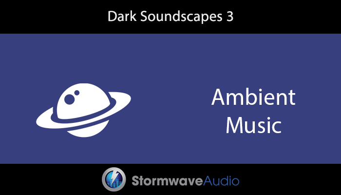 Dark Electronic Ambient Music Pack 3