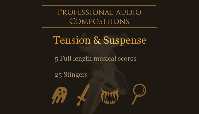 Tension and Suspense Music Pack