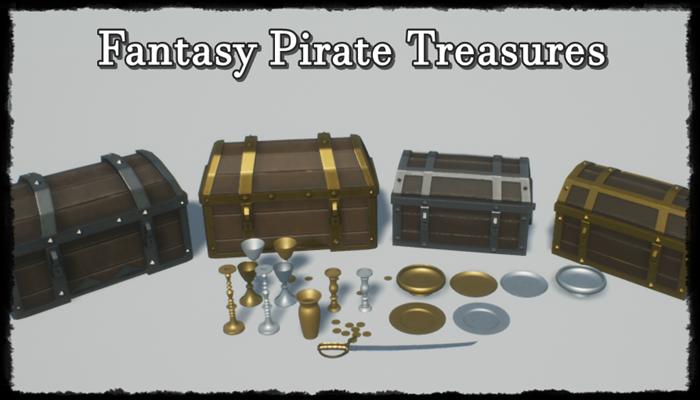 Fantasy Pirate Treasure