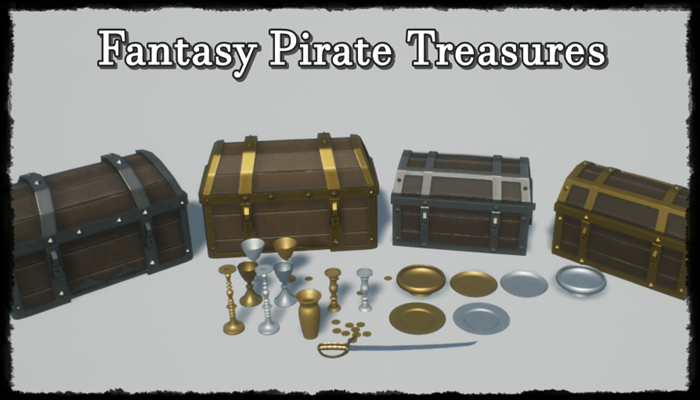 Fantasy Pirate Treasure