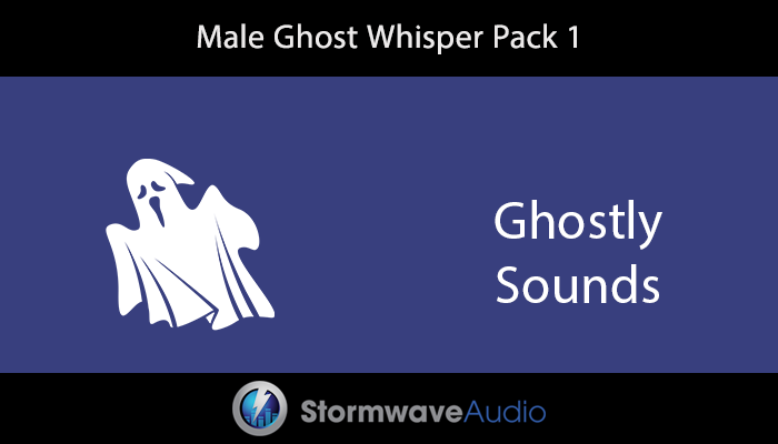 Male Ghost Whisper Pack 1