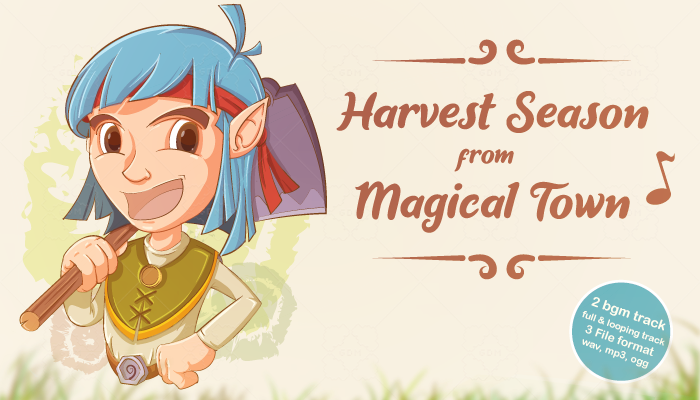 Harvest Season from Magical Town