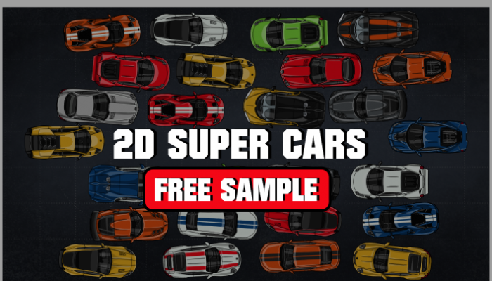 2D Super Cars FREE SAMPLE