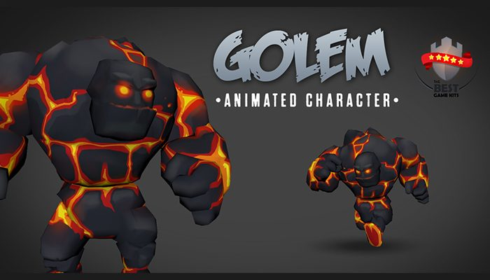 Golem animated chatacter