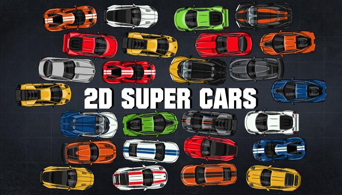 2D Super Cars