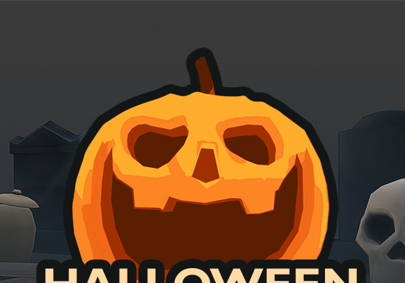 Halloween & Cemetery – Low Poly 3D Game assets –