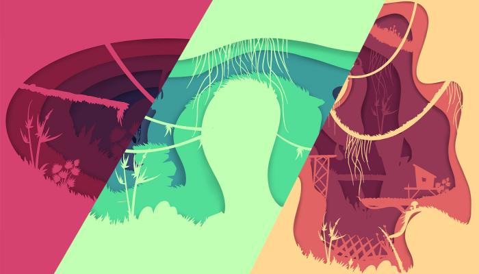 Paper Art – 2D Environment