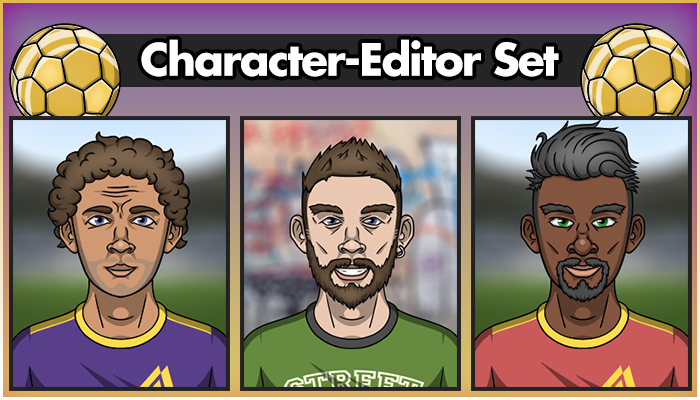 Character-Editor Set (Sportsmen)