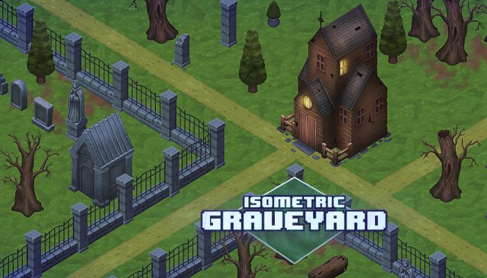 Isometric Graveyard