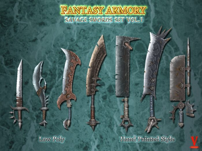 Fantasy Savage Sword Set Vol.1