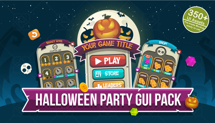 Halloween Party GUI Pack