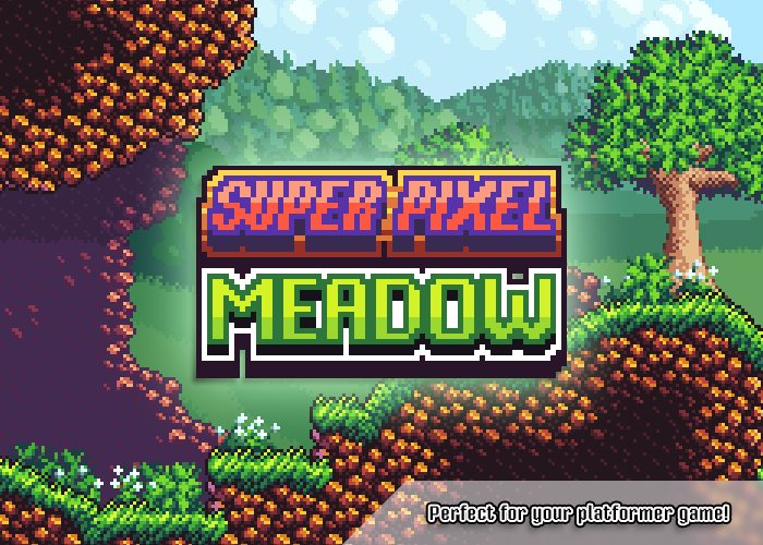 Super Pixel Meadow