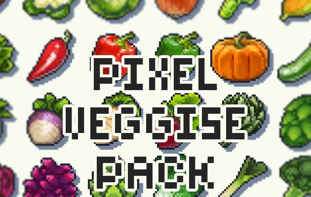 Pixel Veggies Pack