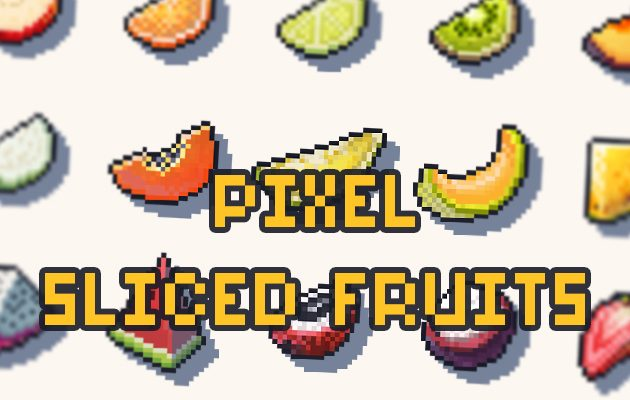 Pixel Sliced Fruits